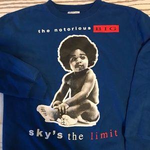 Notorious B.I.G. Biggie Smalls Crewneck Sweatshirt